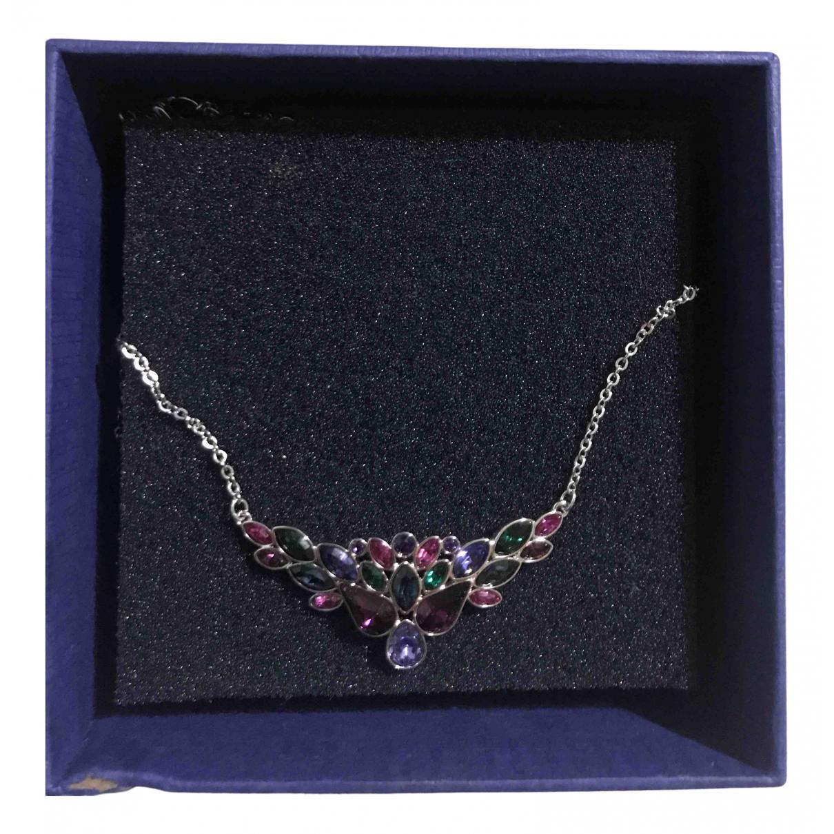 Swarovski - Collier   pour femme en argent - multicolore