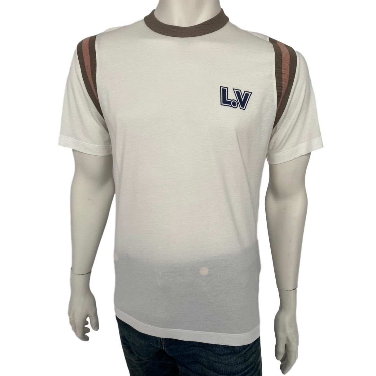 Louis Vuitton \N White Cotton T-shirts for Men L International