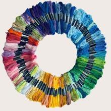 100 Farbe Kreuzstich Faden
