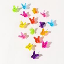 16pcs Mini Butterfly Grabbing Clip