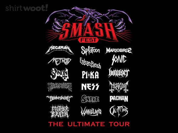 Smash Fest T Shirt