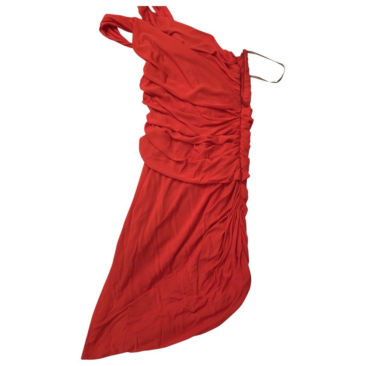 Halston Heritage - Robe   pour femme - orange