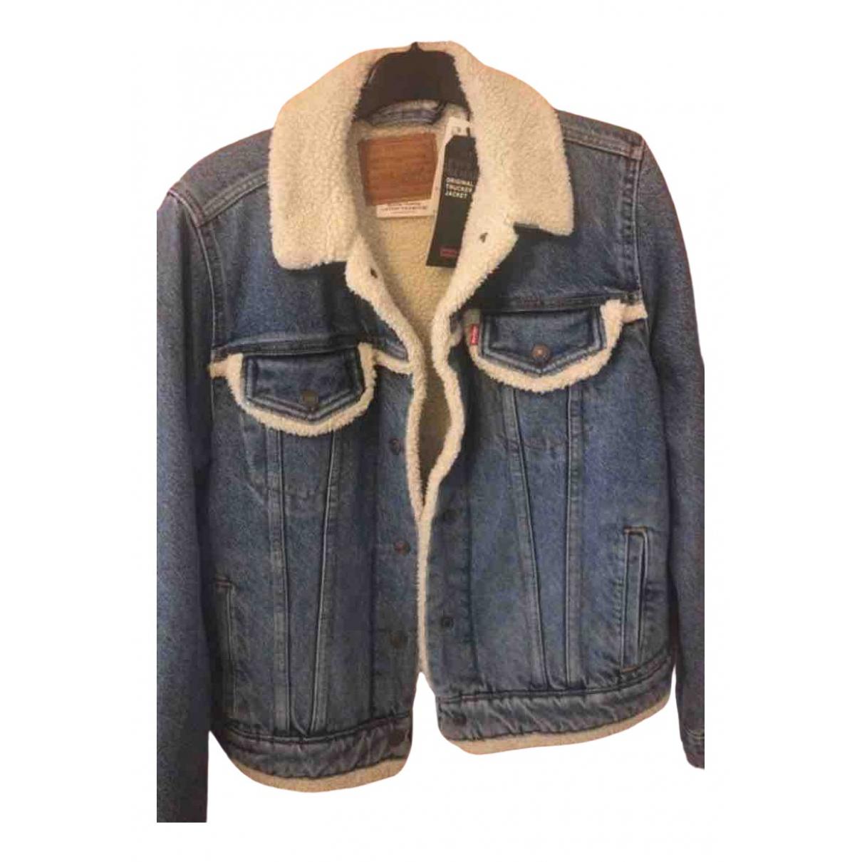 Levi's \N Blue Denim - Jeans jacket for Women 40 FR