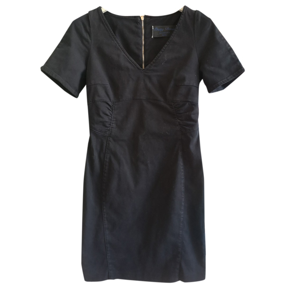 Max Mara Weekend - Robe   pour femme en denim - noir