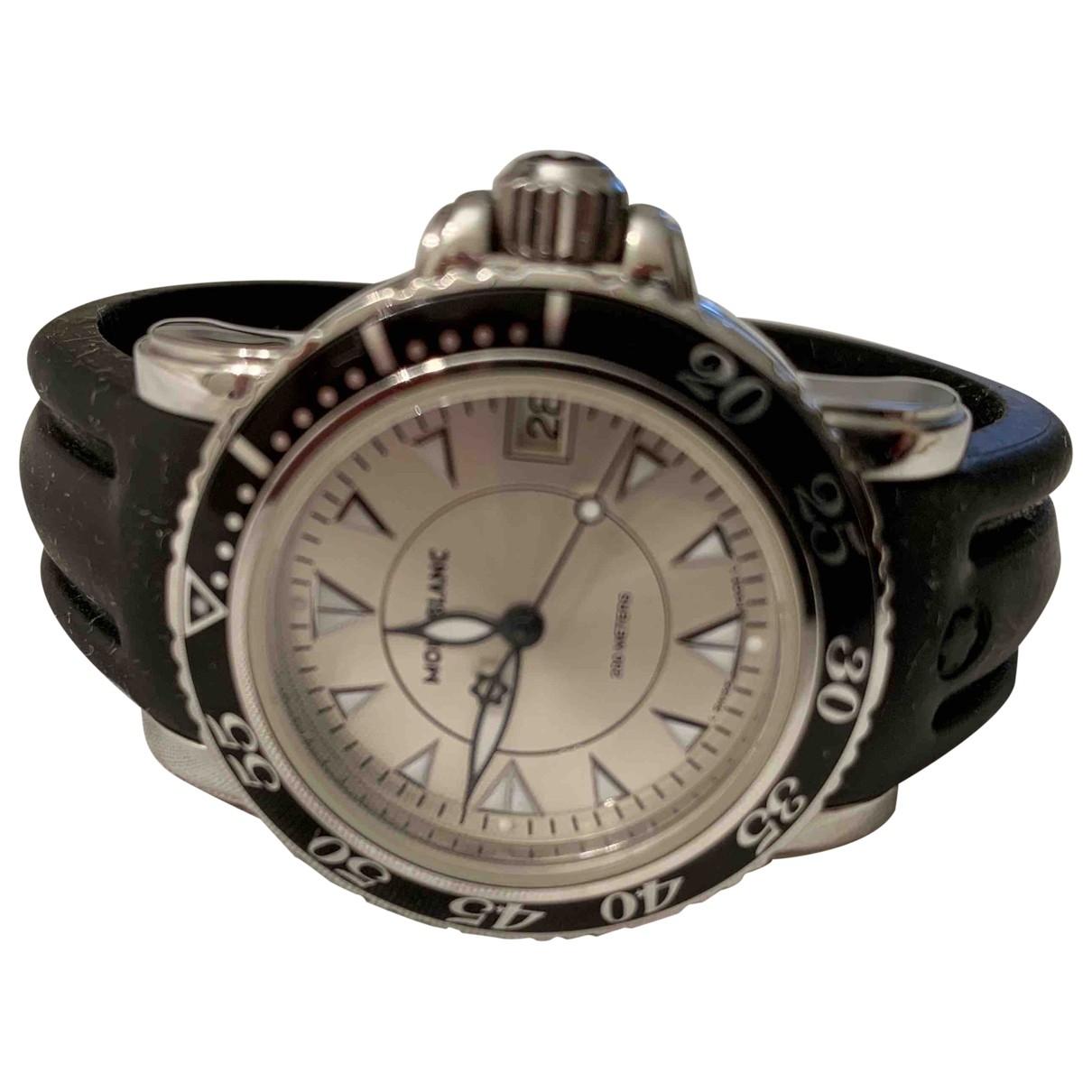 Montblanc Meisterstuck White Steel watch for Women \N