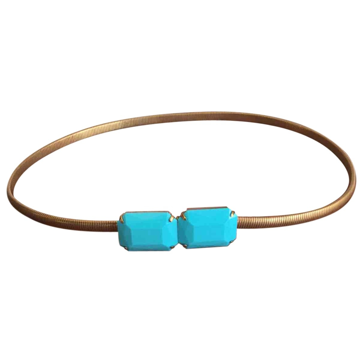Non Signé / Unsigned \N Gold Chain belt for Women 85 cm