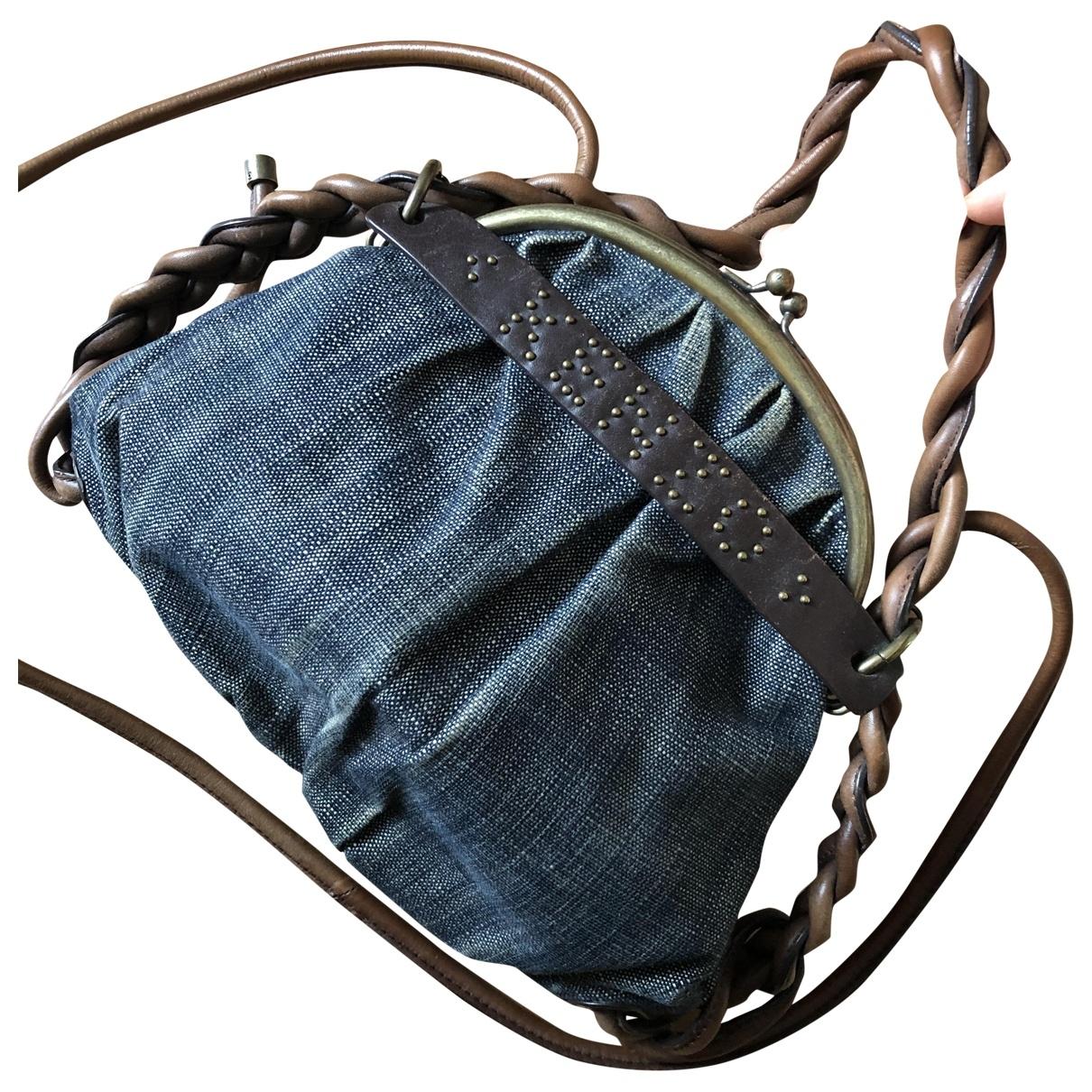 Kenzo \N Handtasche in  Blau Denim - Jeans