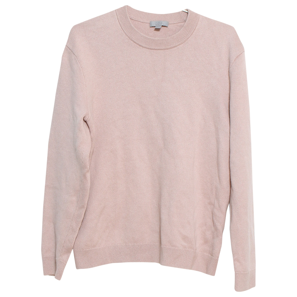 Cos \N Pullover.Westen.Sweatshirts  in  Rosa Baumwolle