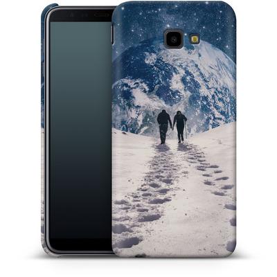 Samsung Galaxy J4 Plus Smartphone Huelle - Pale Blue Dot von Enkel Dika