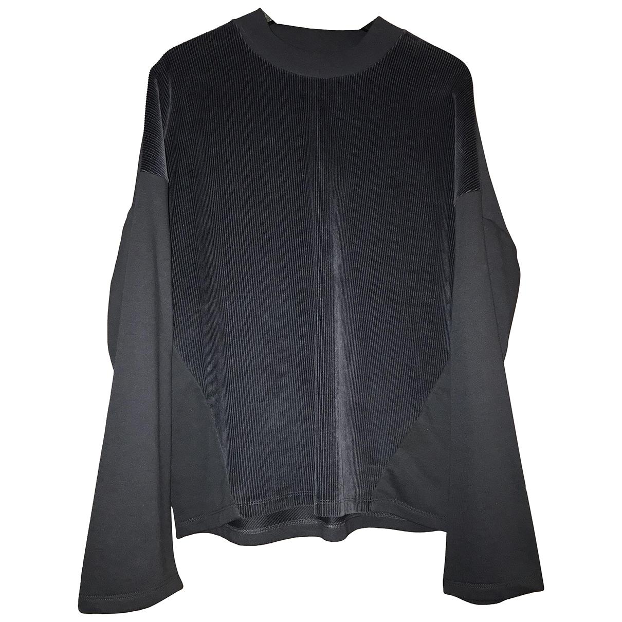 Cos \N Pullover.Westen.Sweatshirts  in  Marine Baumwolle