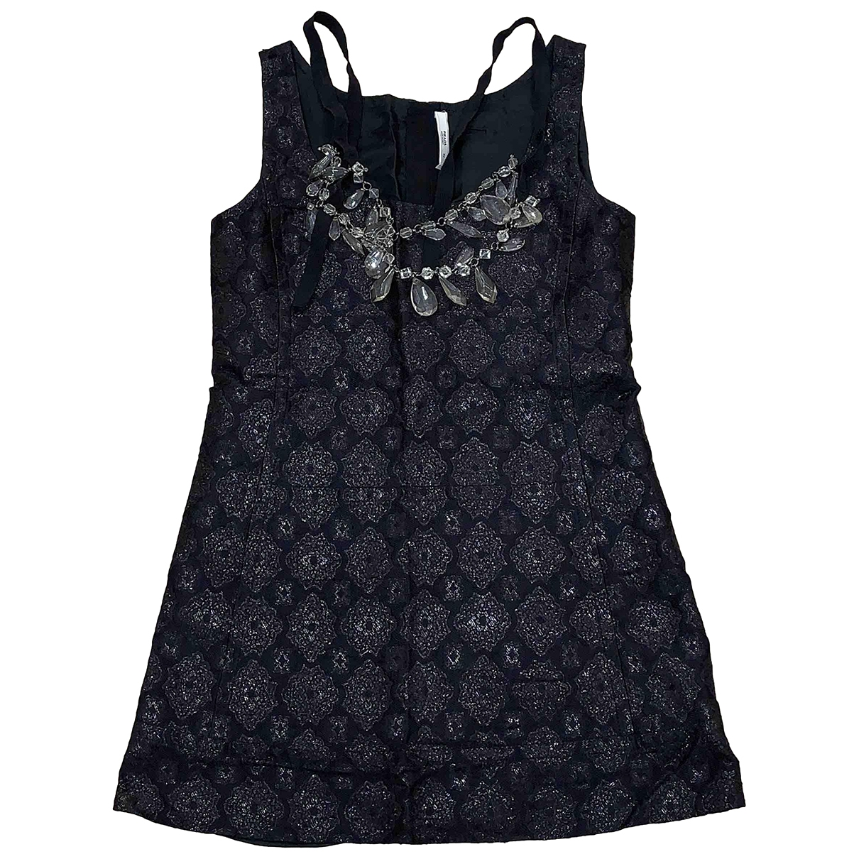 Prada \N Black Silk dress for Women 42 IT