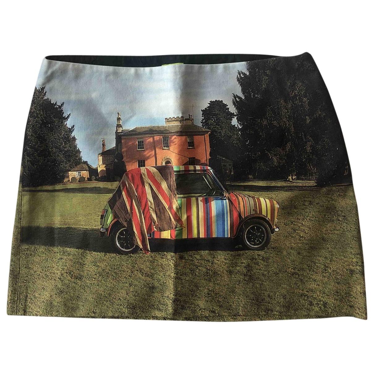 Paul Smith \N Multicolour Cotton skirt for Women 42 IT