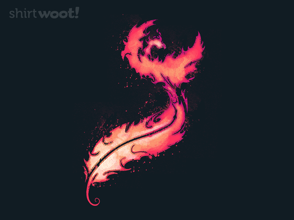 Feather And Flame T Shirt