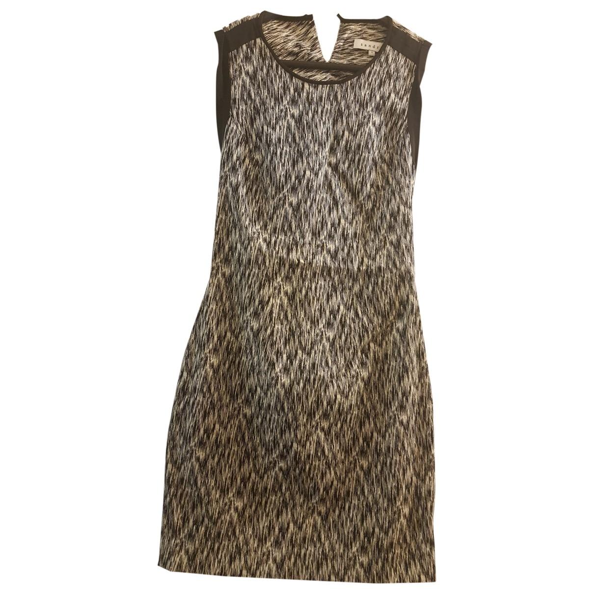 Sandro \N Kleid in Baumwolle - Elasthan