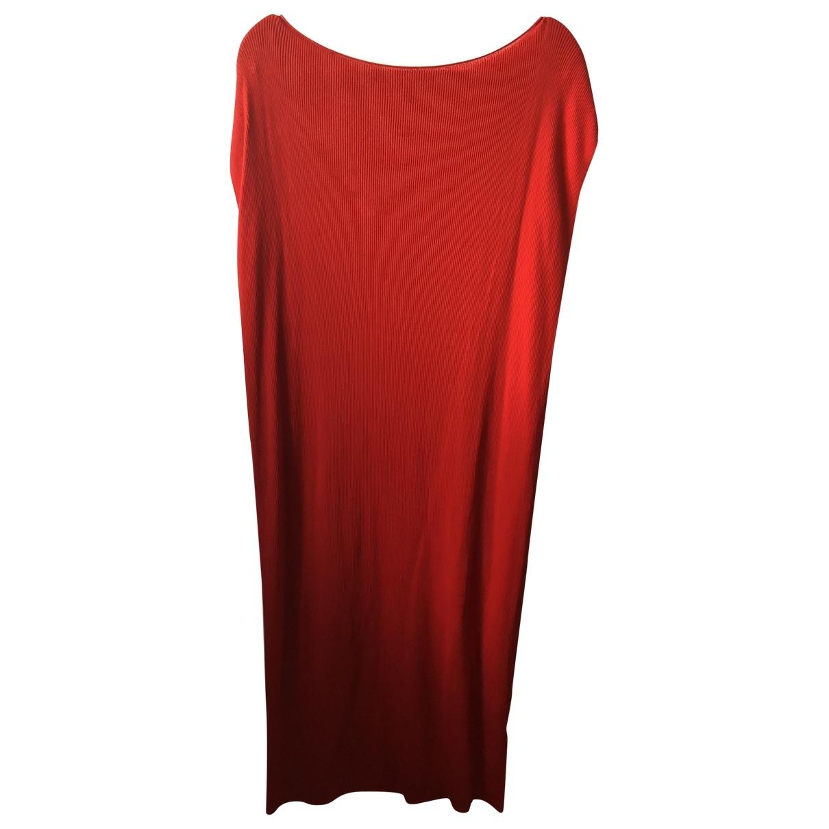 Cos \N Kleid in  Rot Baumwolle - Elasthan