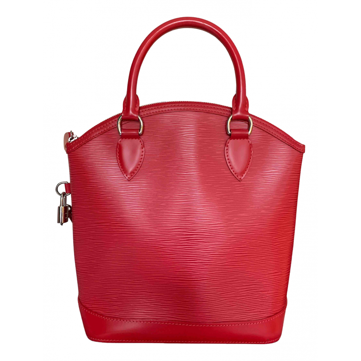 Louis Vuitton Lockit Vertical Red Leather handbag for Women N
