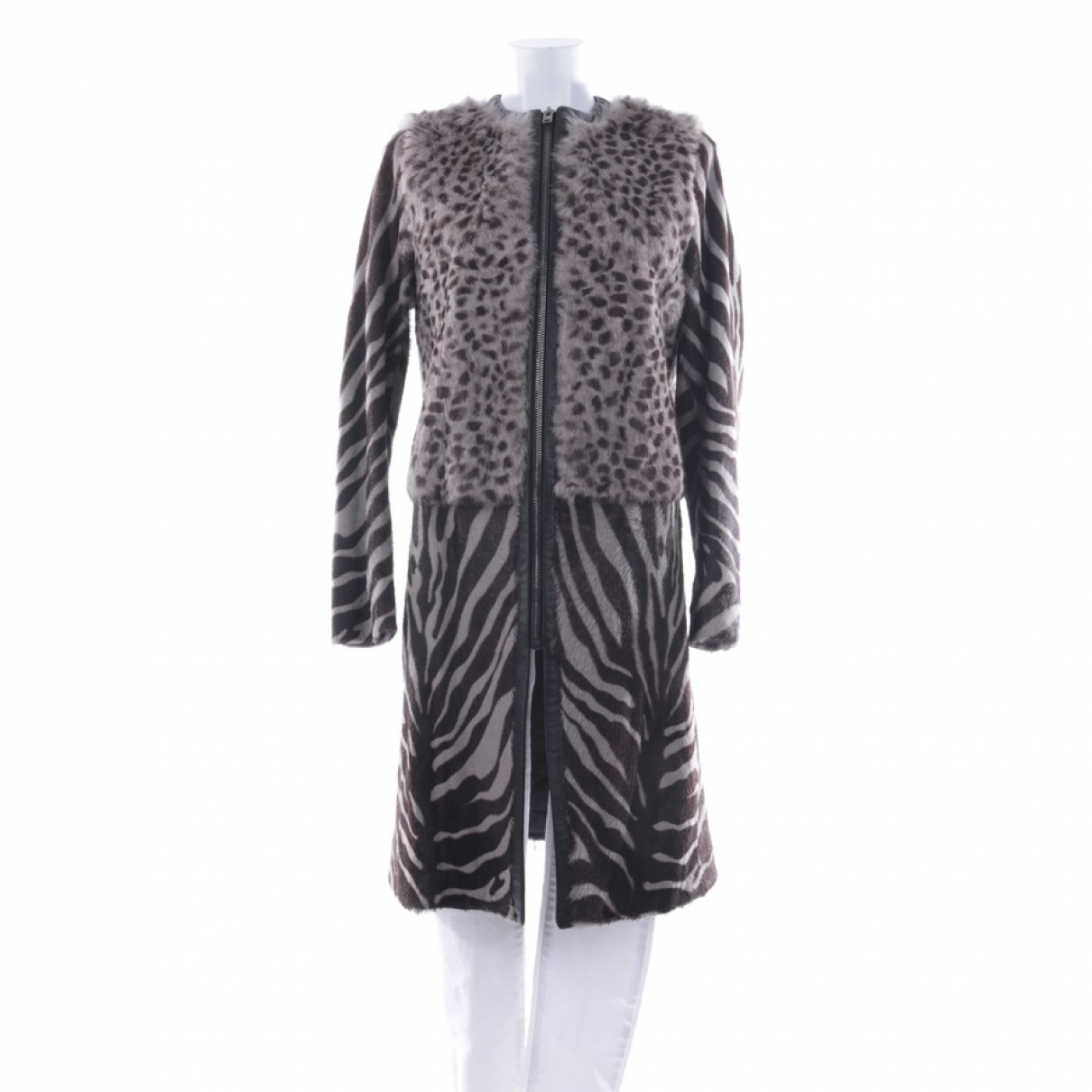 Joseph \N Multicolour Fur coat for Women 38 FR