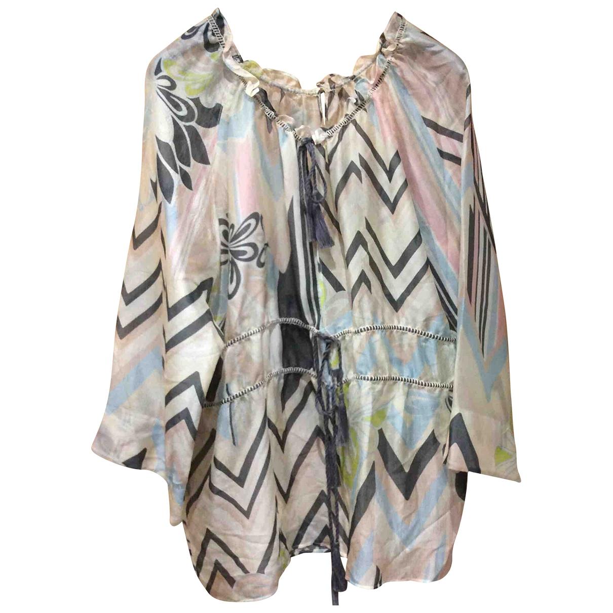 M Missoni \N Beige Silk  top for Women 44 IT