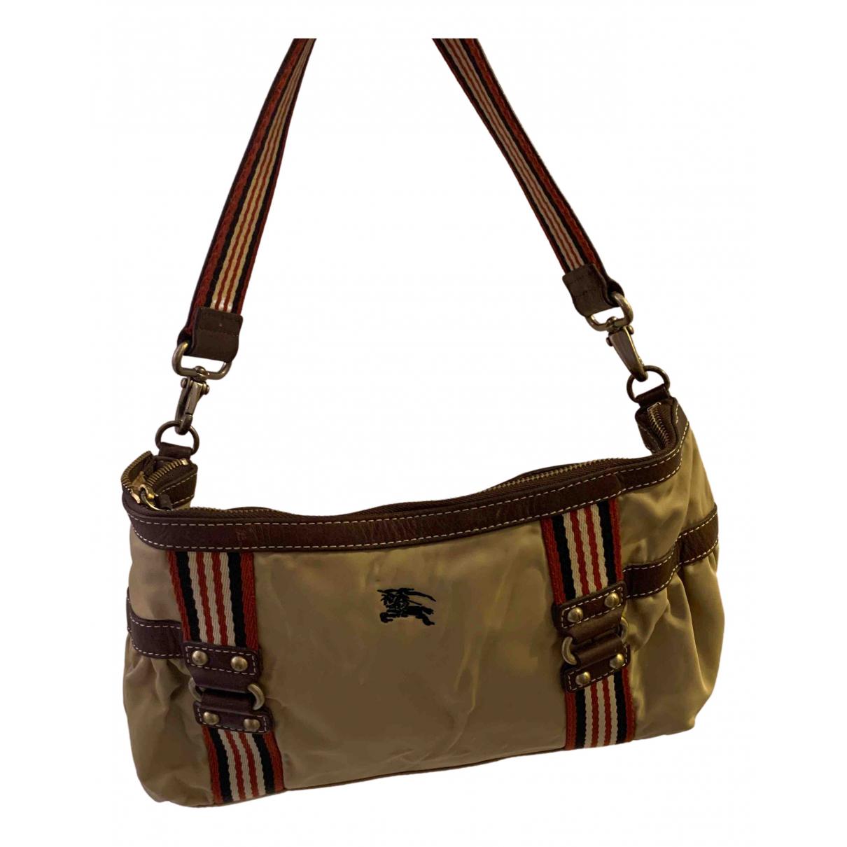 Burberry N Khaki Cloth handbag for Women N