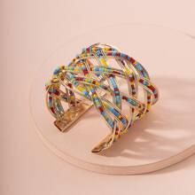 Armband mit bunten Perlen Dekor