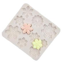 1pc Snowflake Shaped Mold