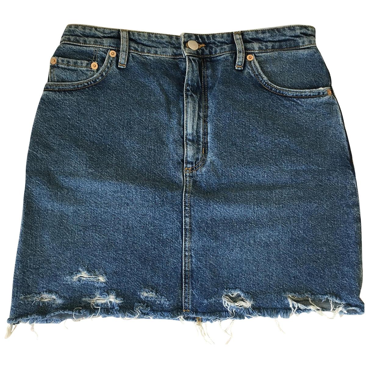 & Other Stories \N Rocke in  Blau Denim - Jeans