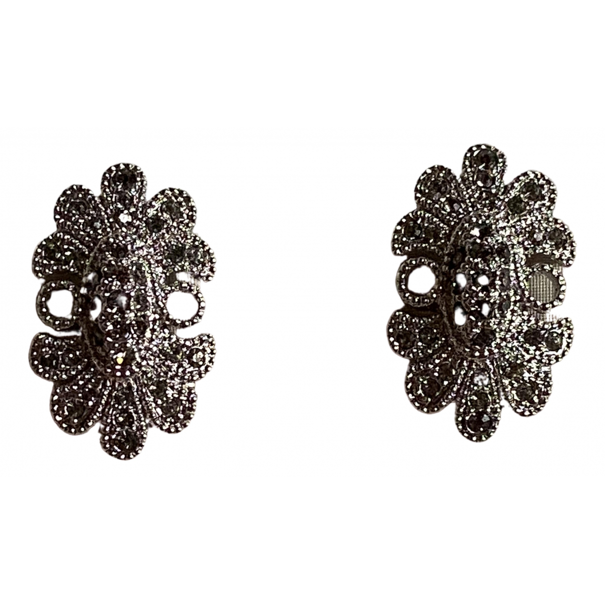 Burberry \N Silver Metal Earrings for Women \N