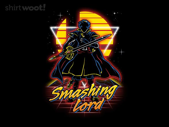 Retro Smashing Lord T Shirt