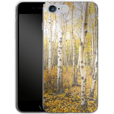 Apple iPhone 6s Plus Silikon Handyhuelle - Fallen Leaves von Joy StClaire