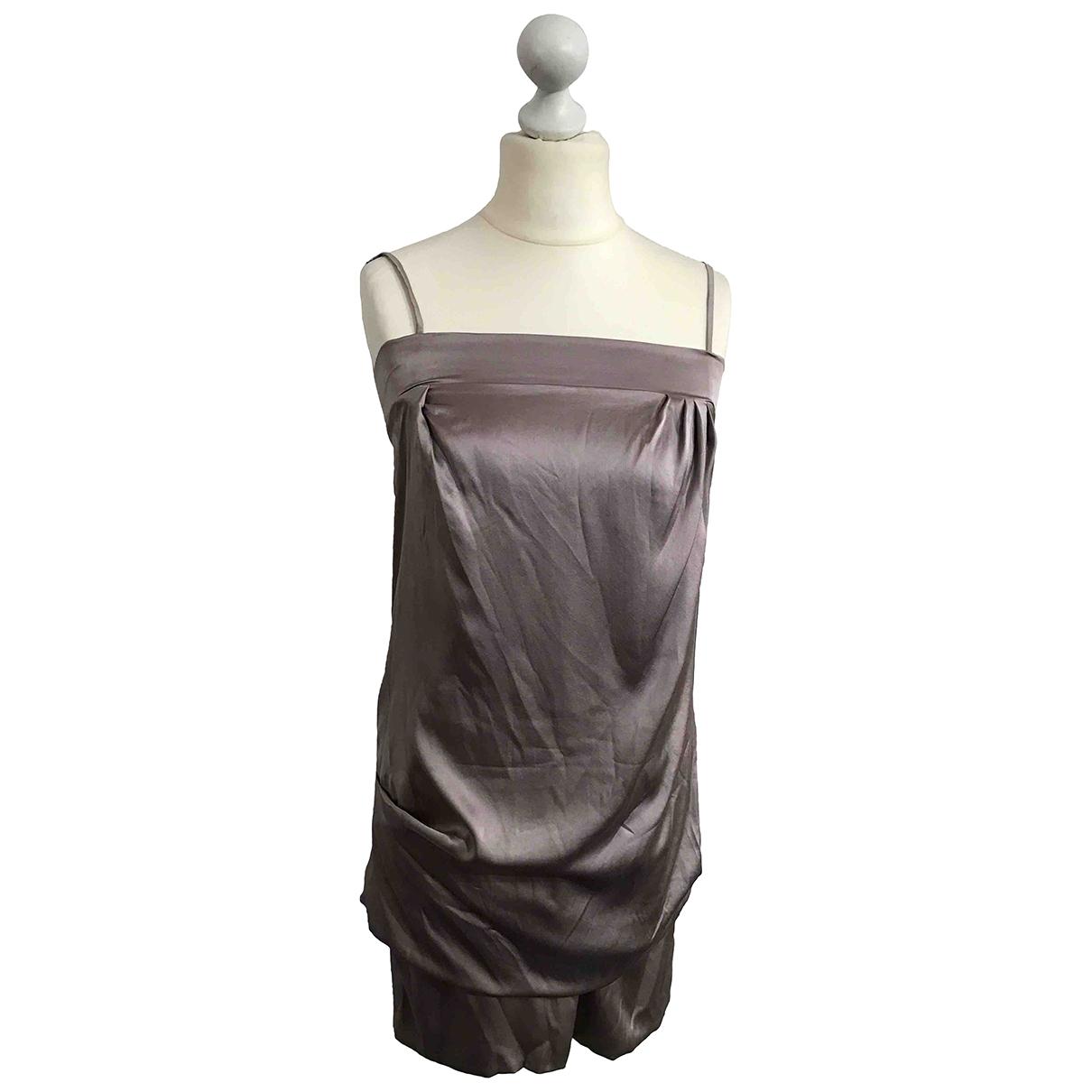 Brunello Cucinelli - Robe   pour femme en soie