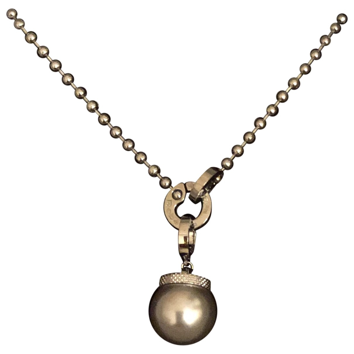Rebecca \N Halskette in  Silber Stahl