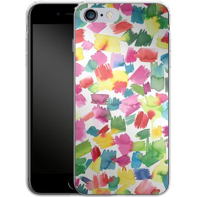 Apple iPhone 6s Plus Silikon Handyhuelle - Abstract Spring Colorful von Ninola Design