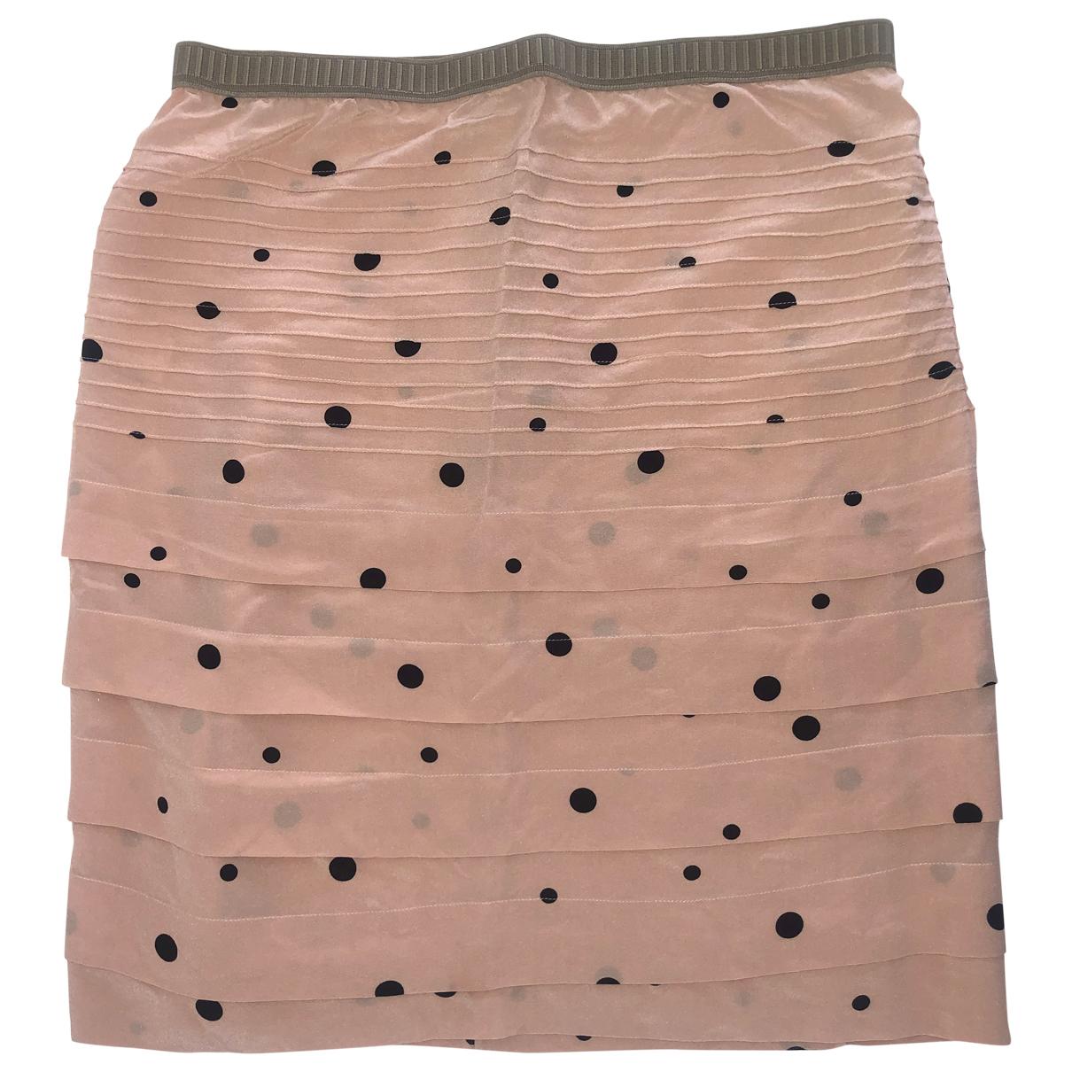 Marni - Jupe   pour femme en soie - rose