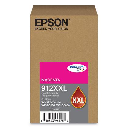 Epson 912XXL T912XXL320 cartouche d'encre originale magenta extra haute capacité