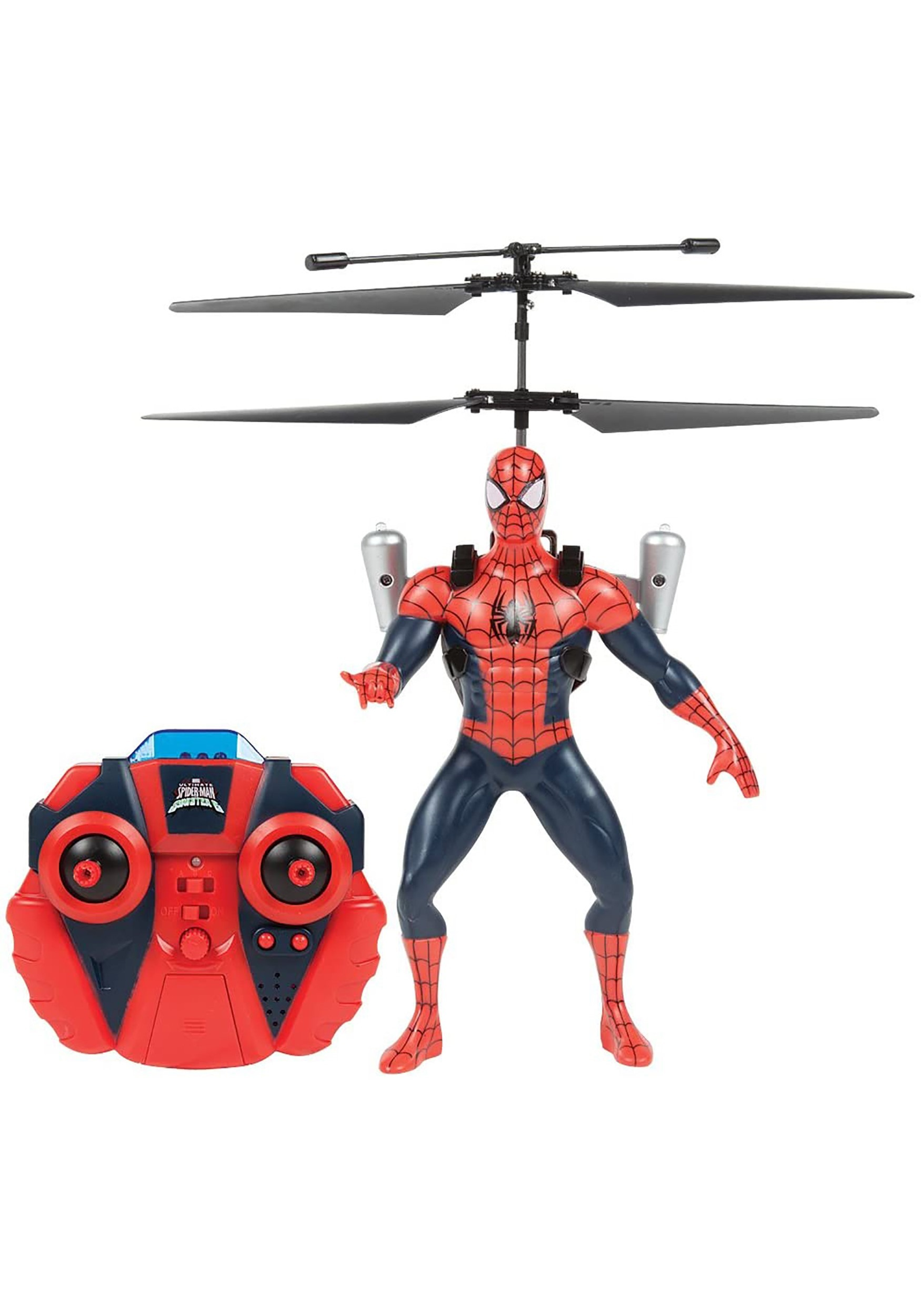 Marvel Flying Spider-Man Figure IR Helicopter
