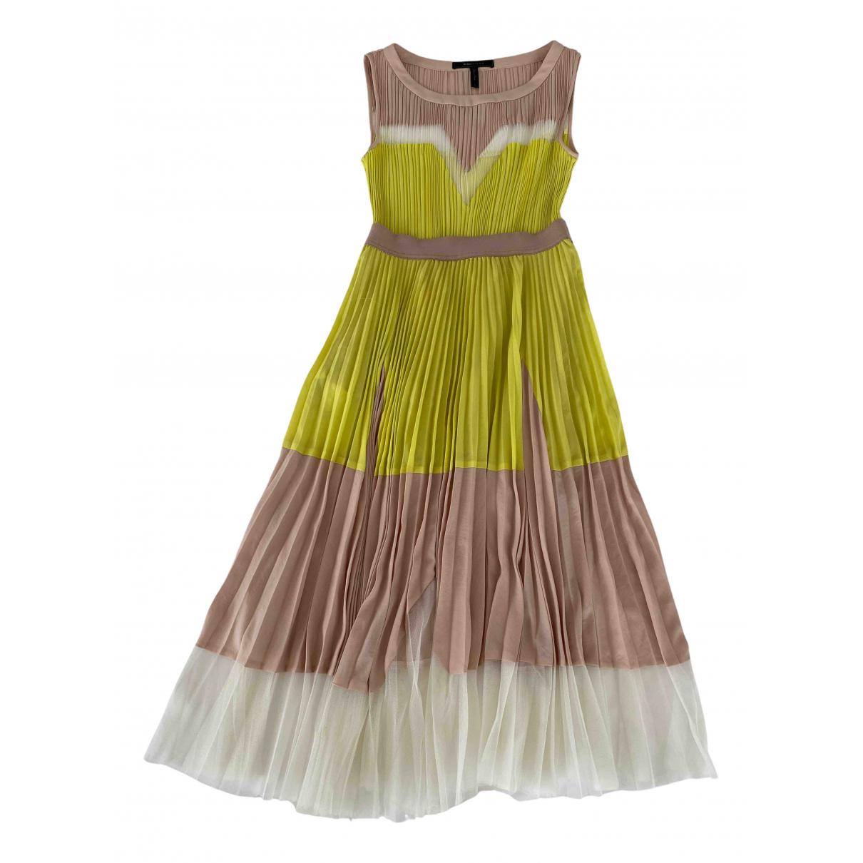 Bcbg Max Azria \N Kleid in  Beige Polyester