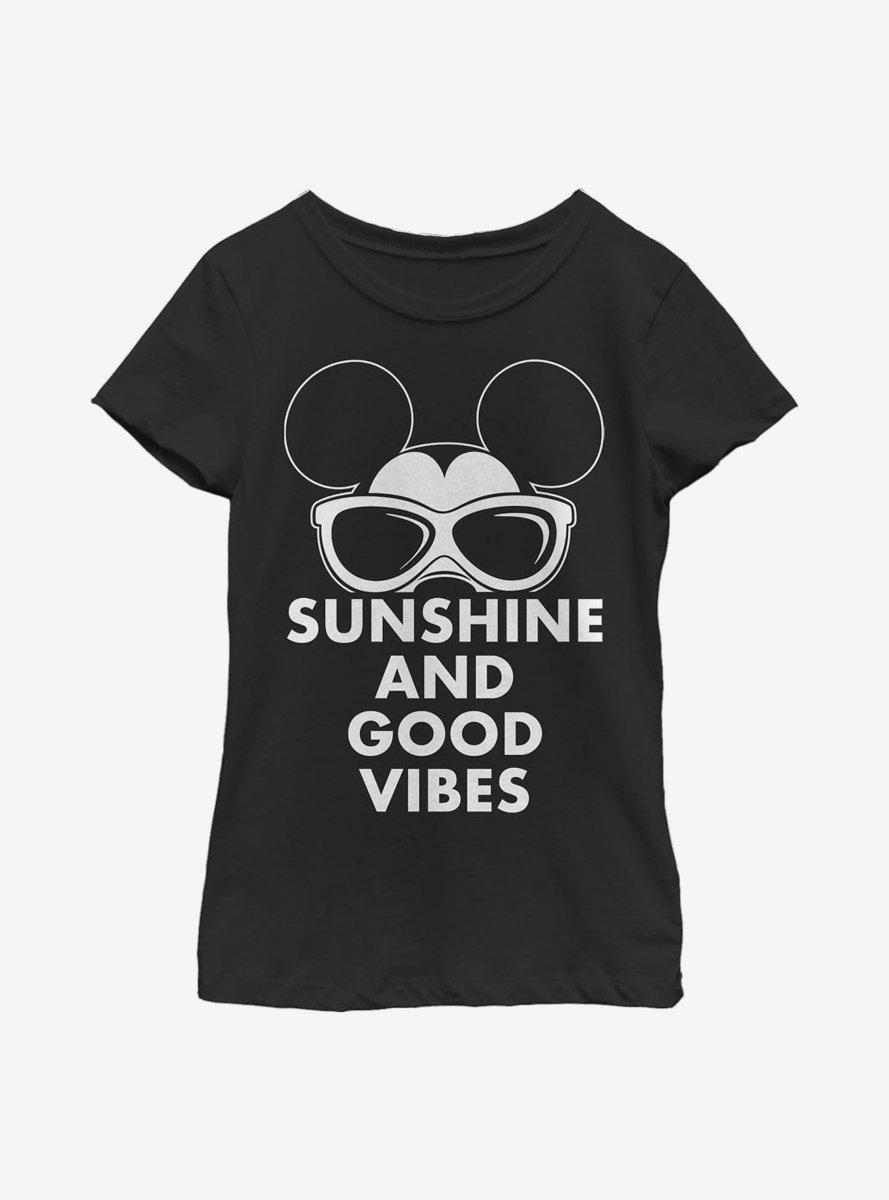 Disney Mickey Mouse Sunshine Youth Girls T-Shirt