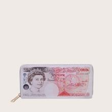 Zip Around Money Design Purse