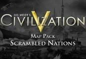 Sid Meiers Civilization V - Scrambled Nations Map Pack DLC EU Steam CD Key