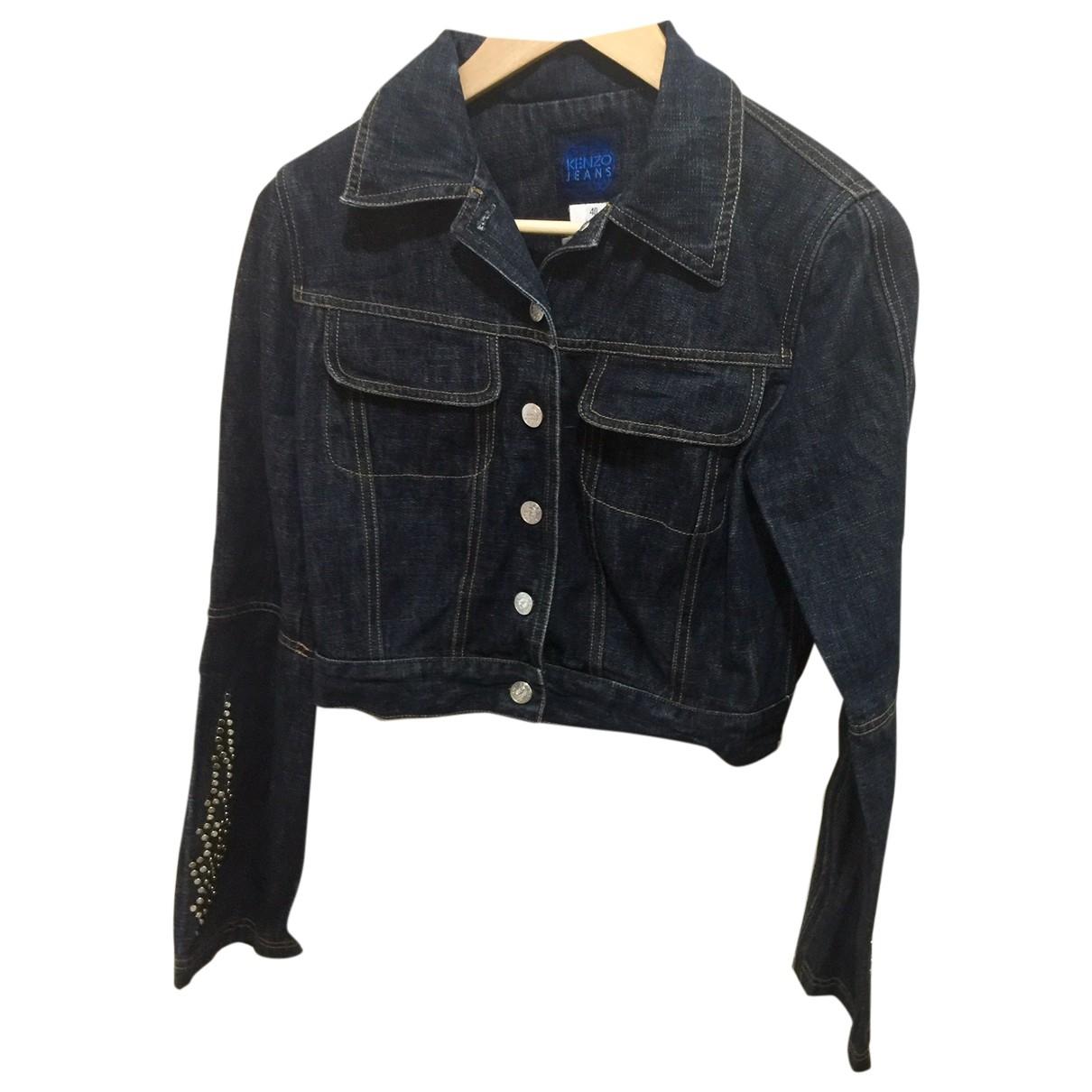 Kenzo \N Jacke in  Blau Denim - Jeans