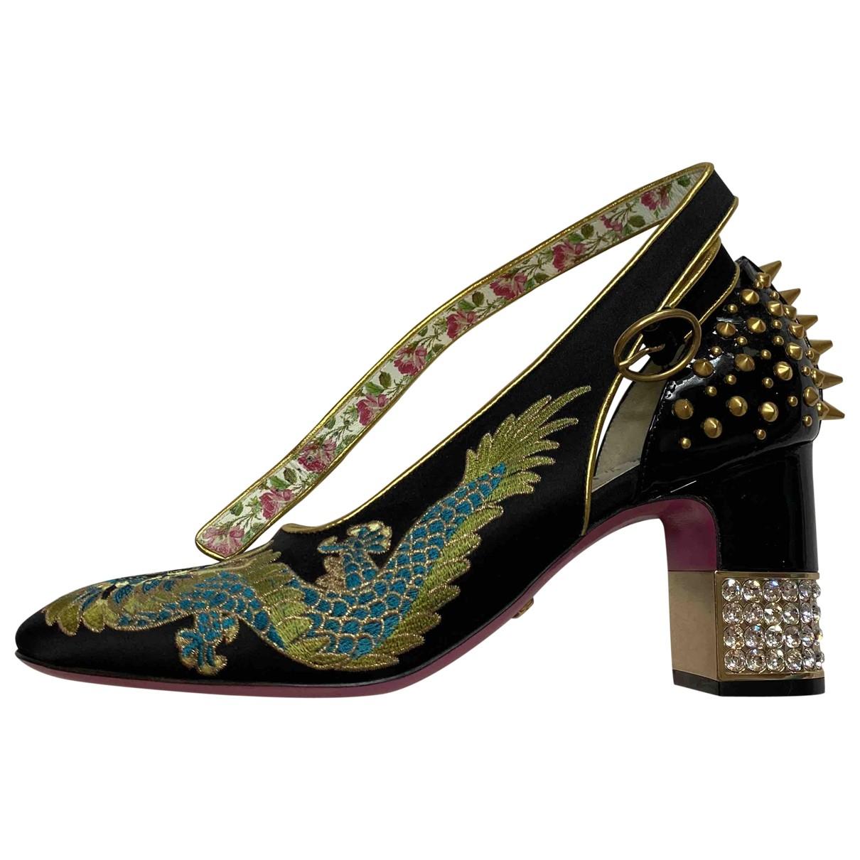 Gucci - Escarpins   pour femme en velours - multicolore
