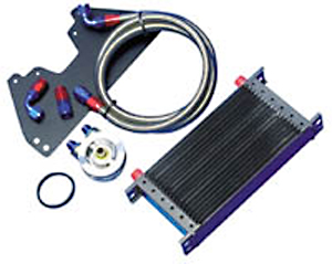 Stillen 400300 Oil Cooler Kit Nissan 300ZX 90-96