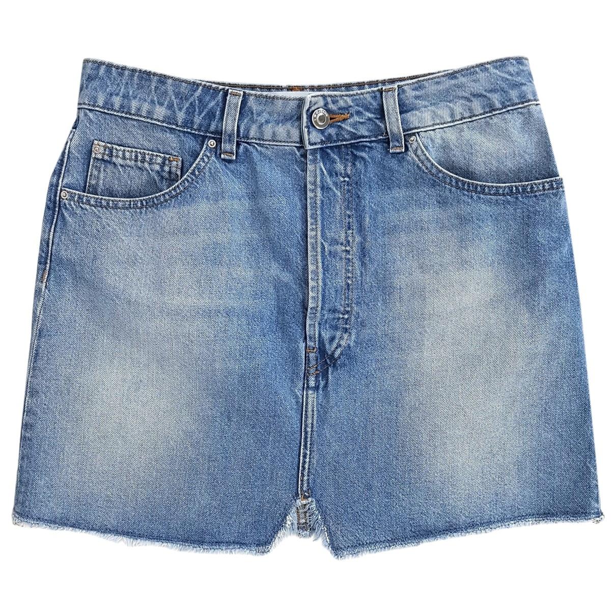 Iro \N Rocke in  Blau Denim - Jeans