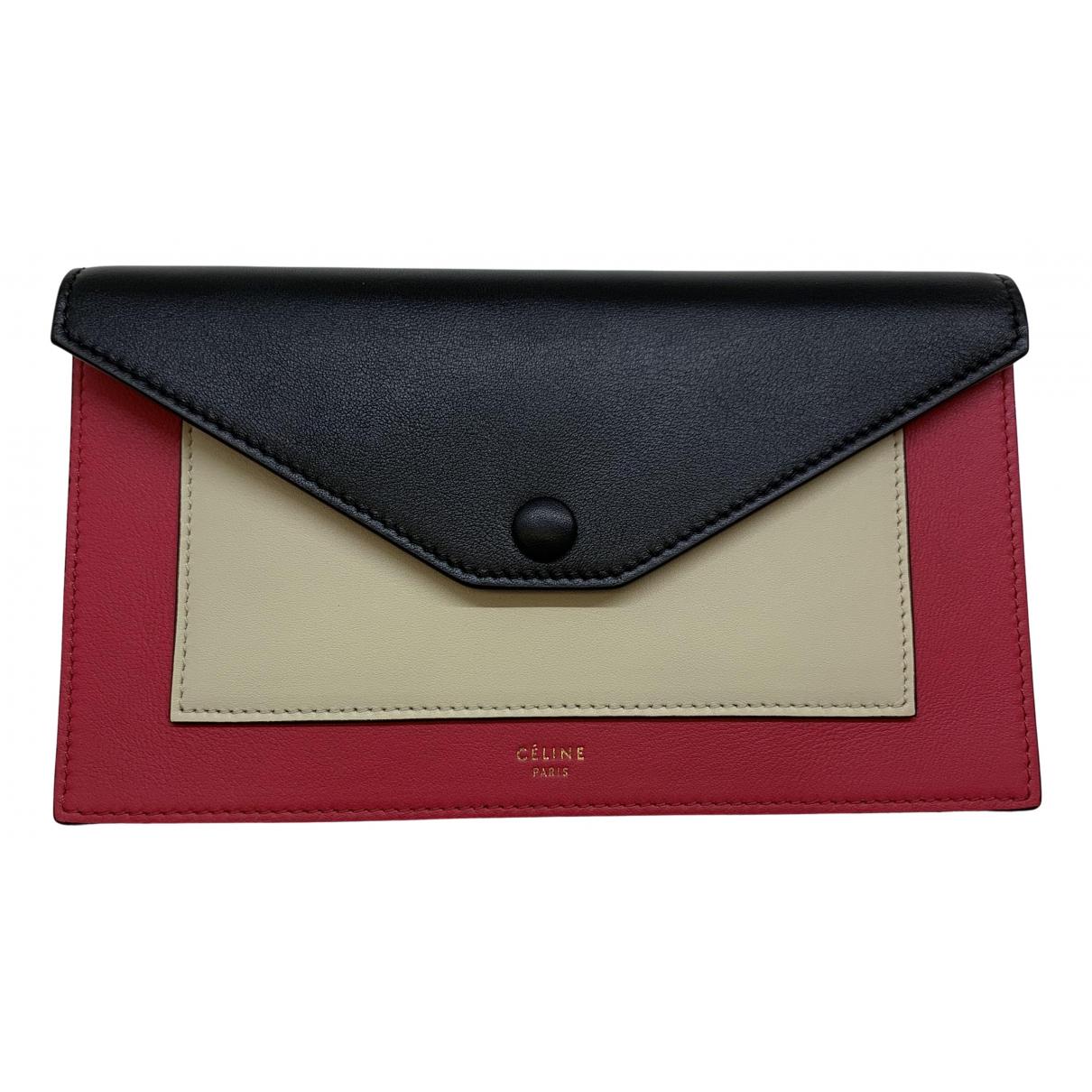 Celine \N Multicolour Leather wallet for Women \N