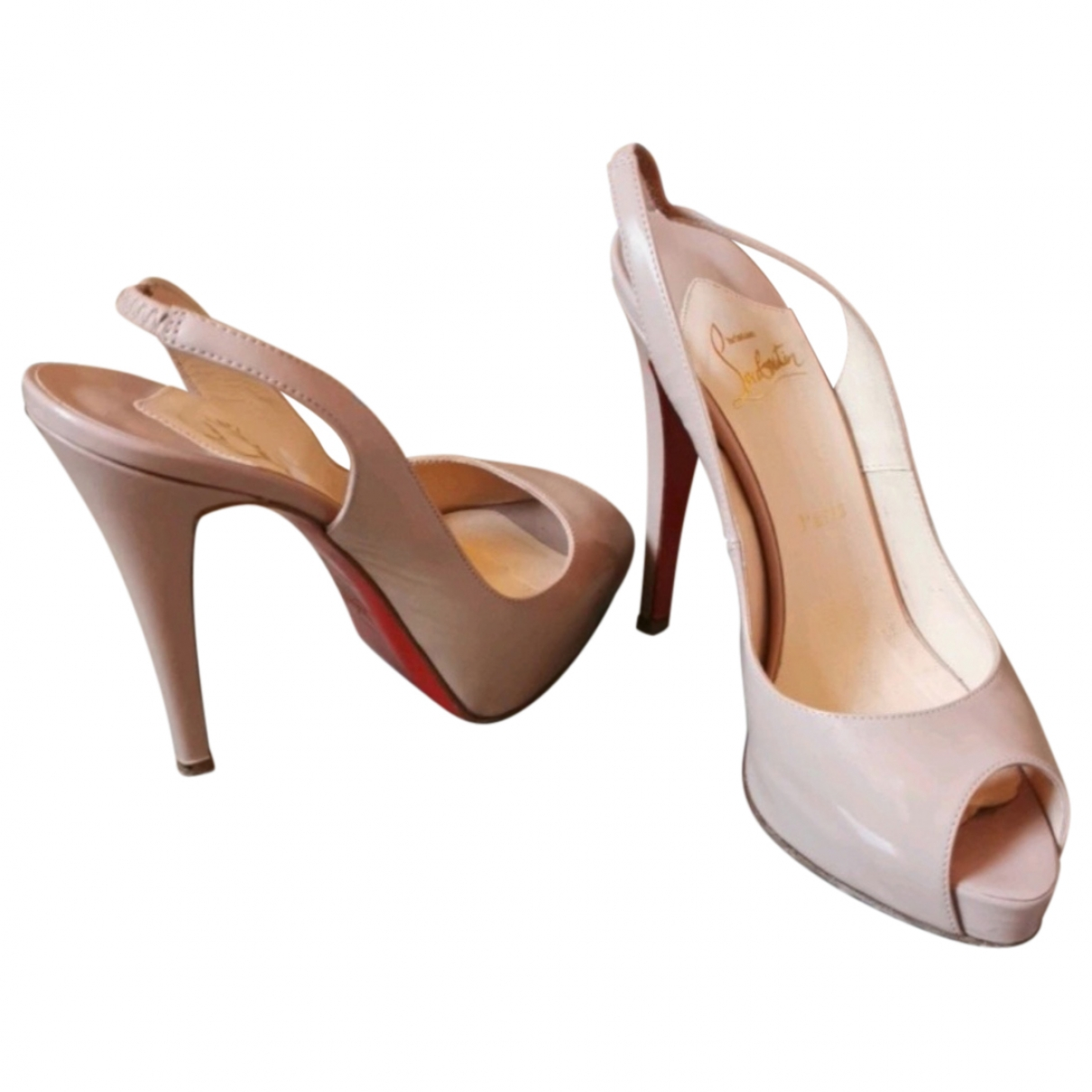 Tacones Private Number de Charol Christian Louboutin