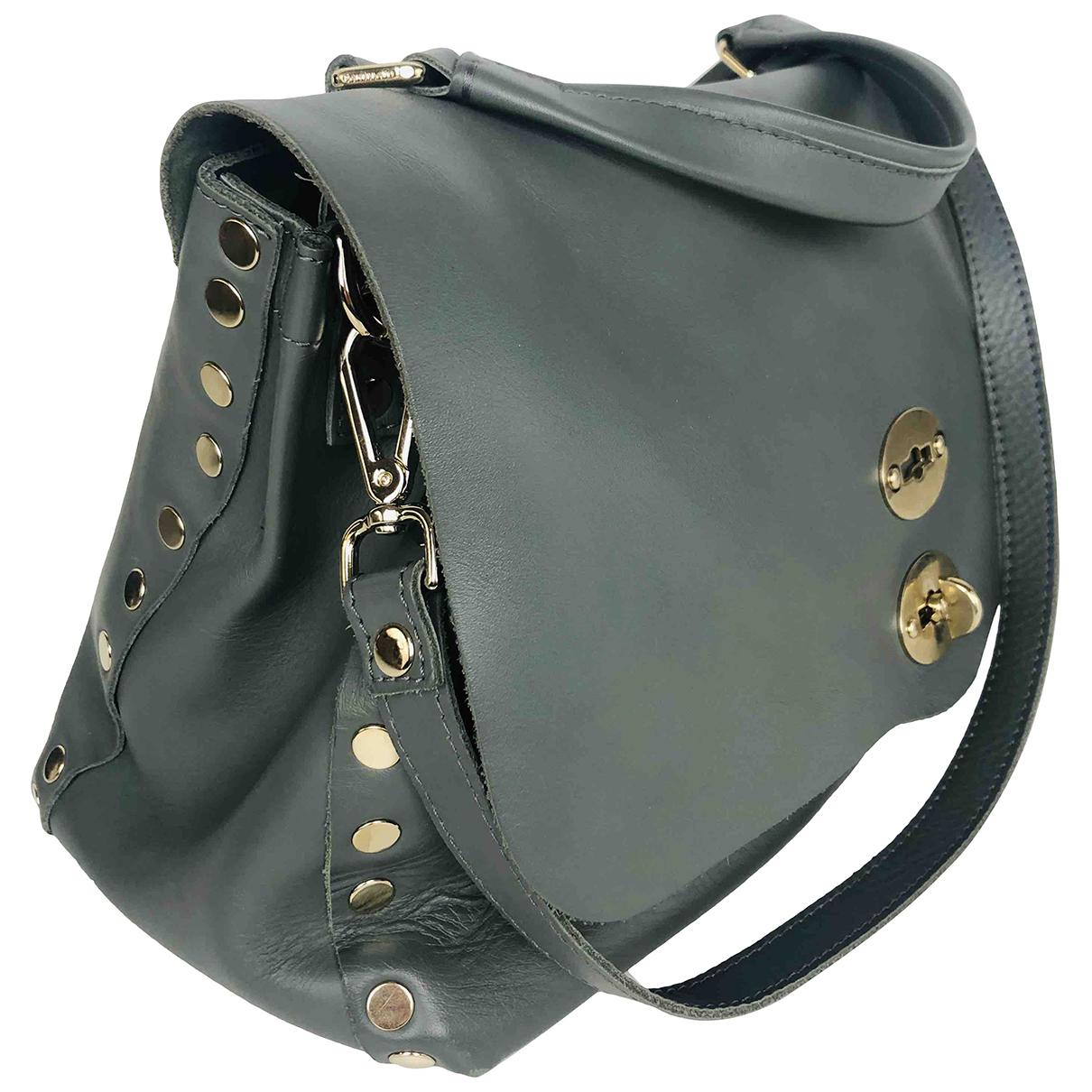 Zanellato N Grey Leather handbag for Women N