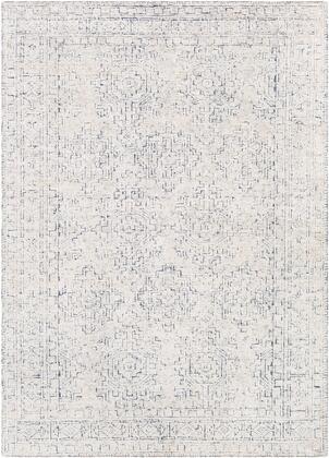 Bella LLB-2300 6' x 9' Rectangle Traditional Rug in Denim