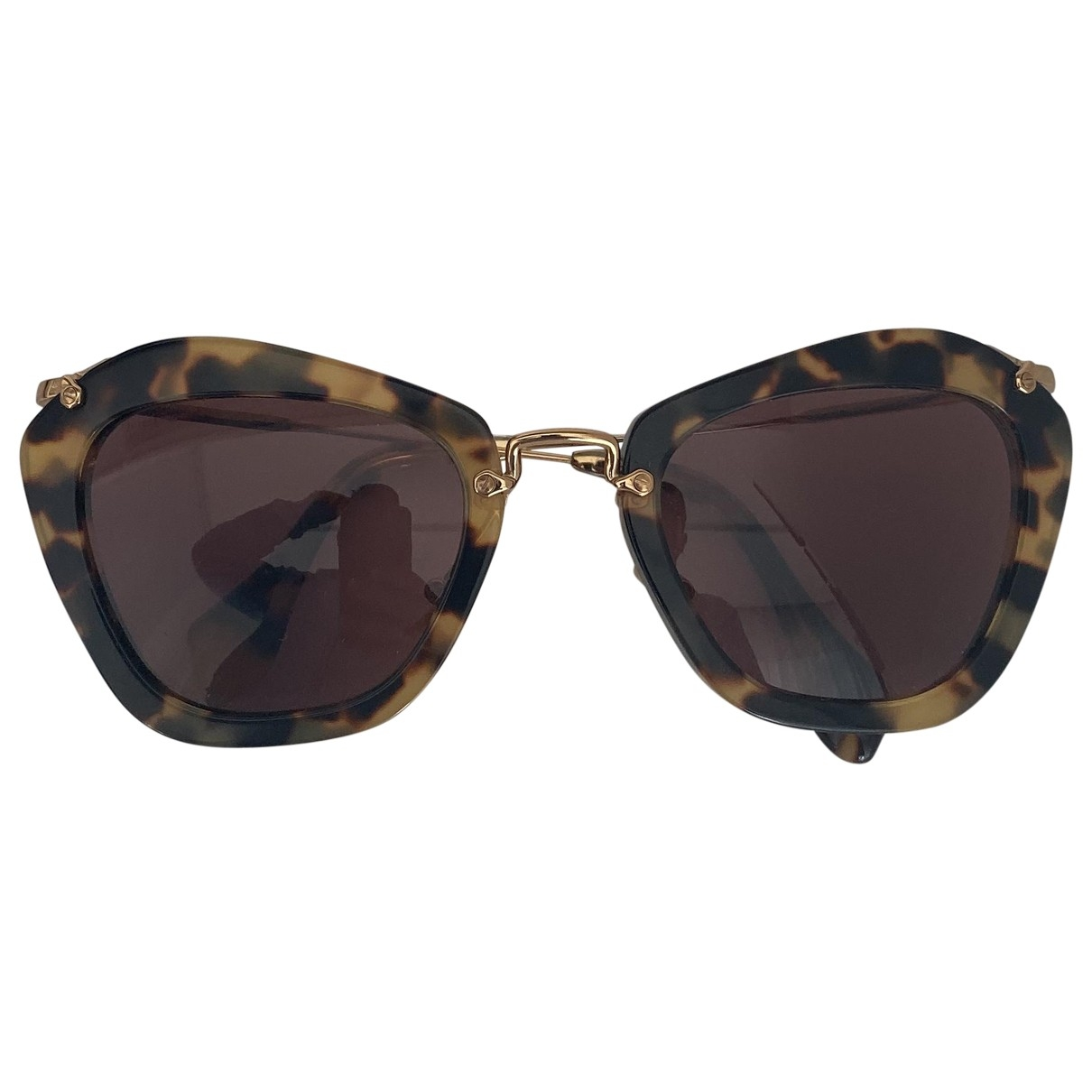 Miu Miu \N Brown Sunglasses for Women \N