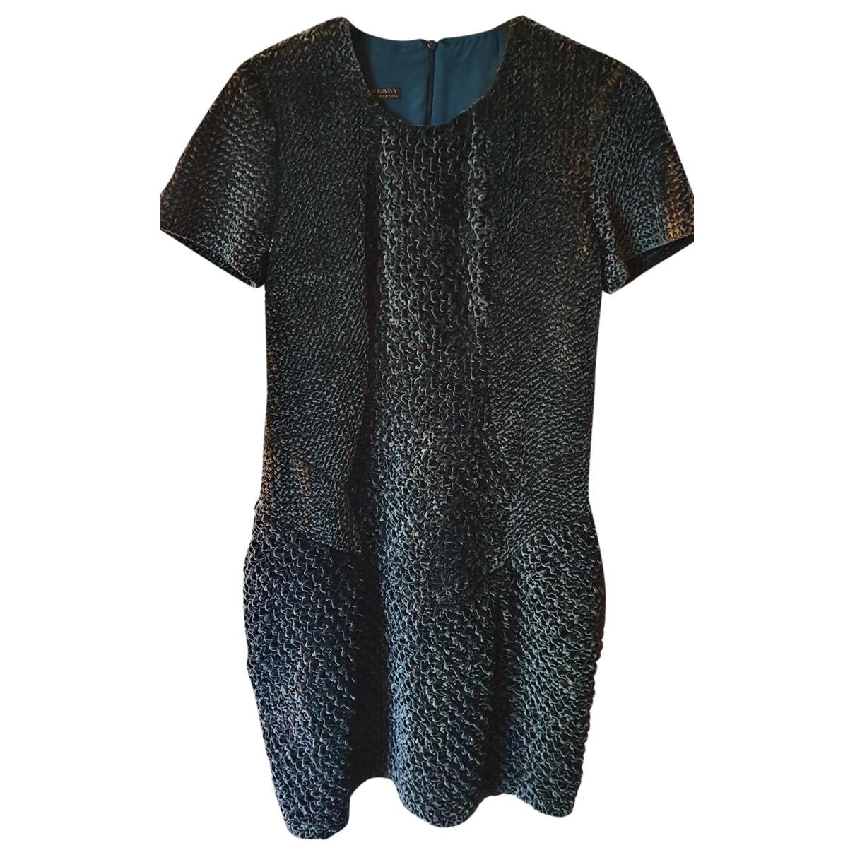 Burberry \N Kleid in  Blau Polyester