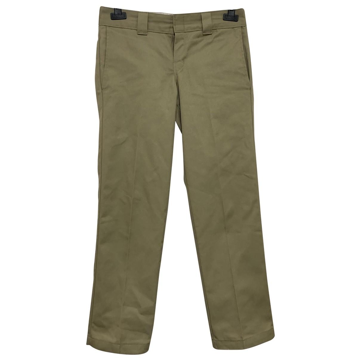 Pantalones en Algodon Beige Dickies